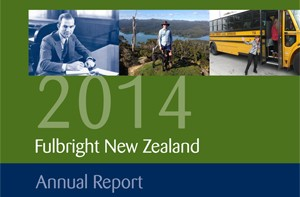 2014 Fulbright New Zealand annual report