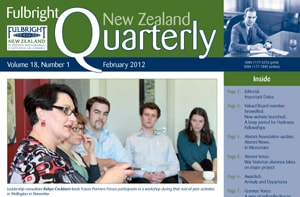 Fulbright New Zealand Quarterly, February 2012