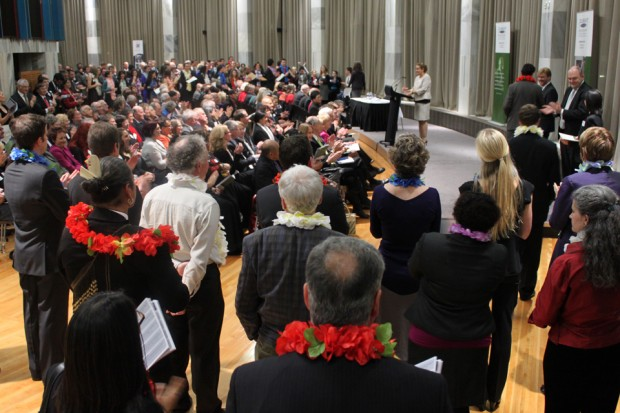Fulbright New Zealand recognised 84 grantees of Fulbright and associated NZ-US exchange awards at its parliamentary awards ceremony last night