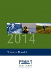 2014 Fulbright New Zealand Grantees Booklet