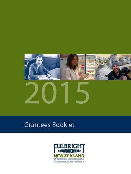 Grantees Booklet 2015 cover