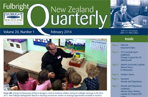 Fulbright New Zealand Quarterly, Ferbuary 2014