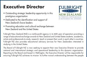 Executive Director vacancy