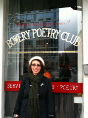 Hinemoana Baker at Bowery Poetry Club