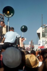 1960 election Adlai Stevenson rally LA airport