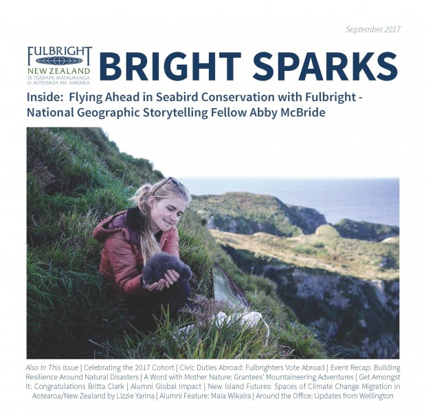Bright Sparks September 2017 Cover
