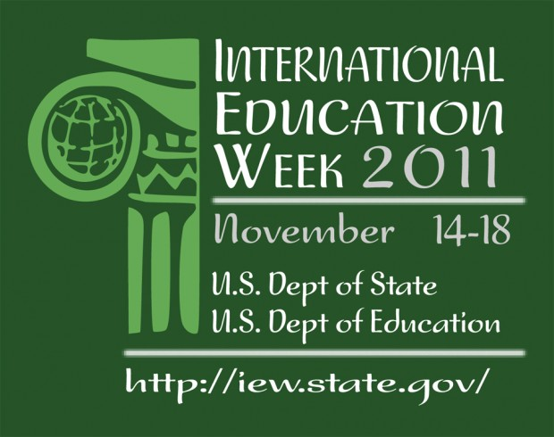 International Education Week 2011 logo