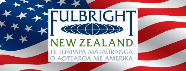 Fulbright US flag banner