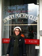 Hinemoana Baker at Bowery Poetry Club